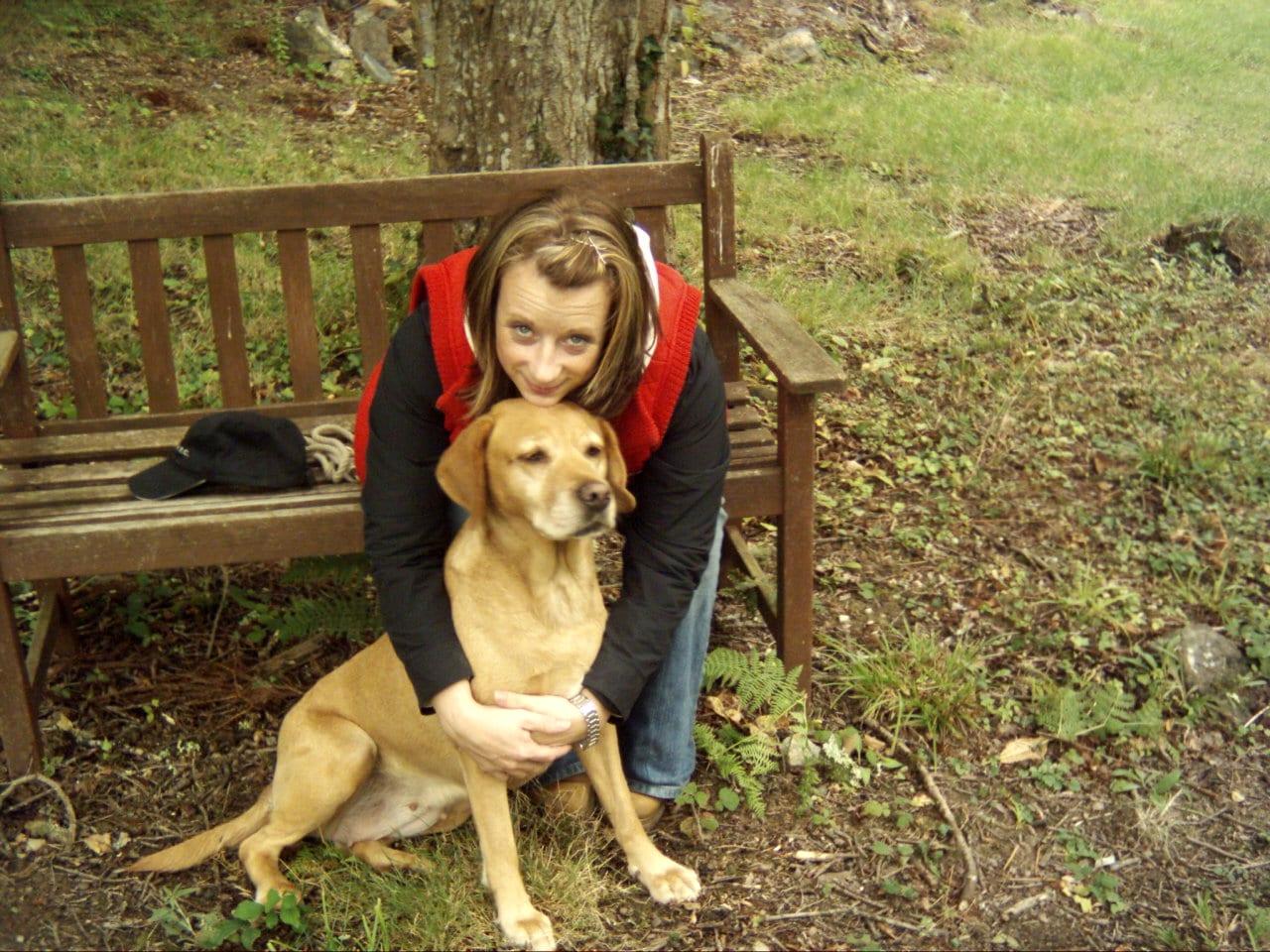 Kim O'Meara dogsblog.com co-founder & Chloe